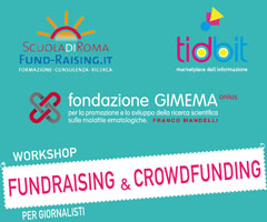 Workshop fundraising e crowdfunding per i giornalisti