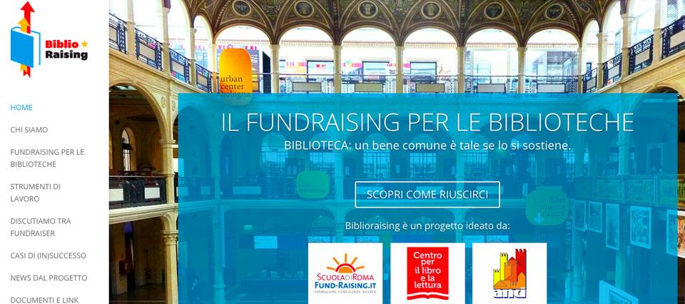 Nasce Biblioraising: il primo sito dedicato alla raccolta fondi per le Biblioteche