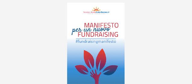 Dicembre 2015: Nasce il Manifesto per il nuovo fundraising