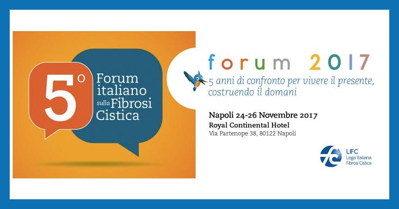 Coen Cagli al Forum Italiano sulla Fibrosi Cistica
